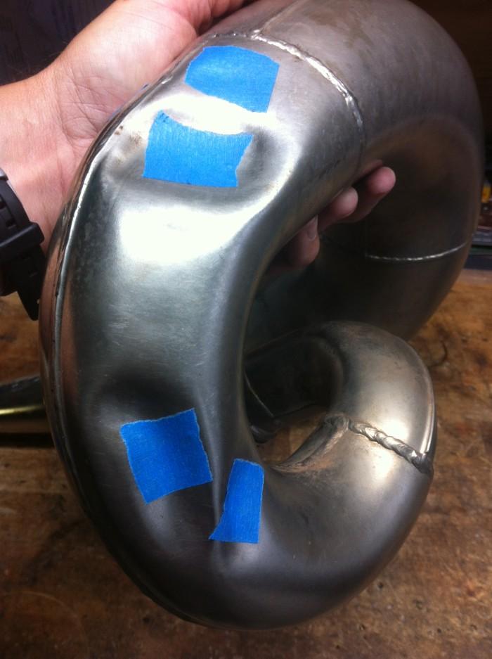 ktm pipe repair